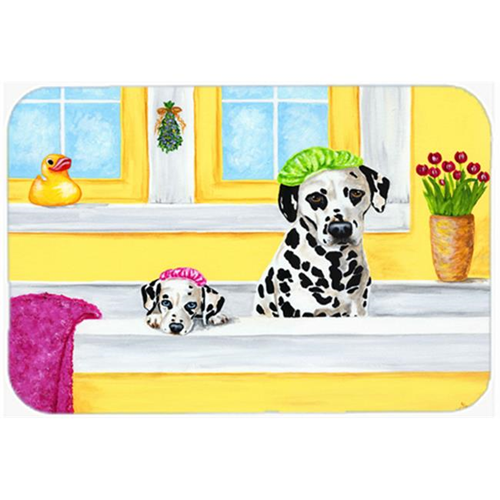 Carolines Treasures AMB1099MP Bath Day Dalmatian Mouse Pad Hot Pad or Trivet