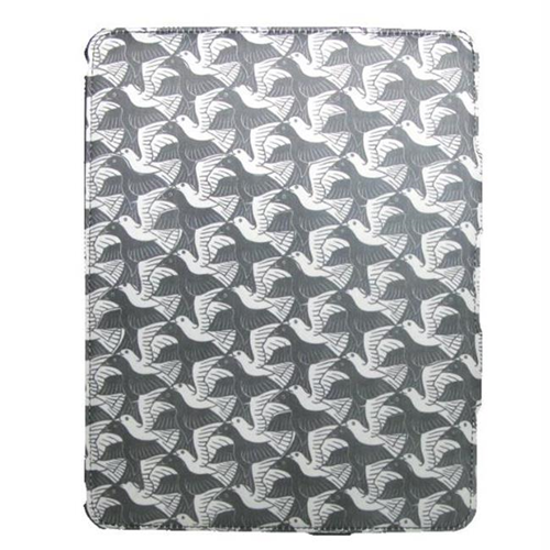 Lux Mobile 188248 M.C. Escher Plane With Birds iPad 2 Premium Fabric Wrapped Case
