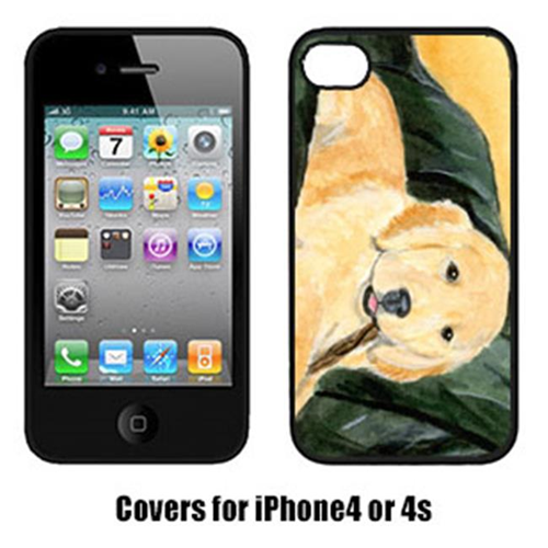 Carolines Treasures SS8761IP4 Golden Retriever Iphone4 Cover