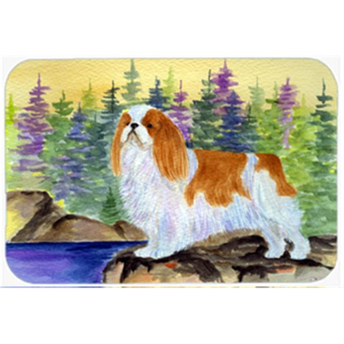 Carolines Treasures SS8204MP English Toy Spaniel Mouse Pad Hot Pad & Trivet