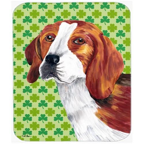 Carolines Treasures SC9289MP Beagle St. Patricks Day Shamrock Portrait Mouse Pad Hot Pad or Trivet