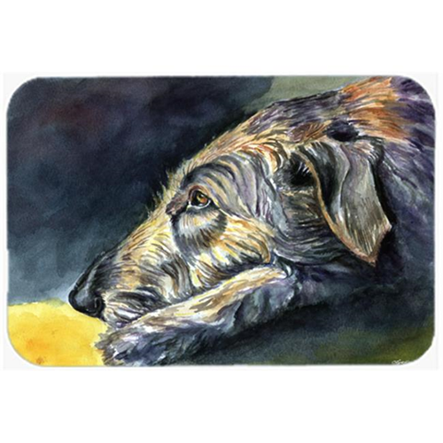 Carolines Treasures 7353MP Irish Wolfhound Sleeper Mouse Pad Hot Pad & Trivet