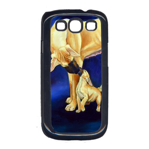 Carolines Treasures 7208GALAXYSIII Natural Fawn Great Dane With Puppy Galaxy S111 Cell Phone Cover