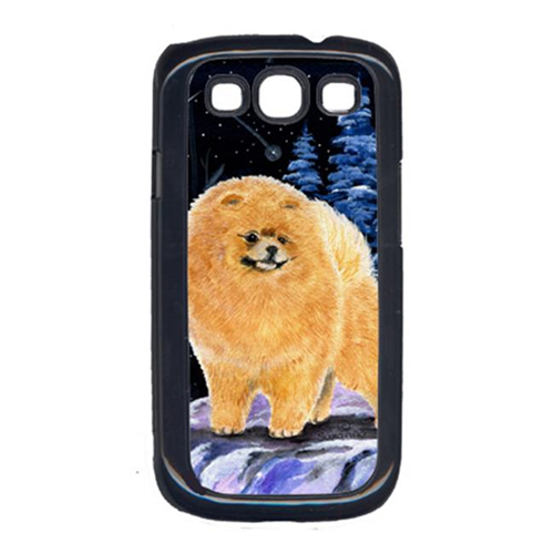 Carolines Treasures SS8396GALAXYSIII Starry Night Pomeranian Cell Phone Cover Galaxy S111