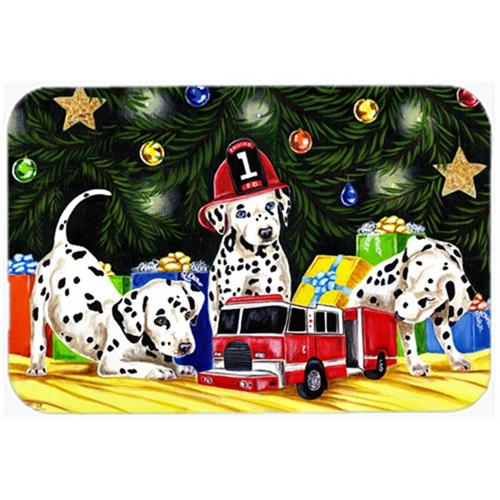 Carolines Treasures AMB1316MP Christmas Favorite Gift Dalmatian Mouse Pad Hot Pad or Trivet