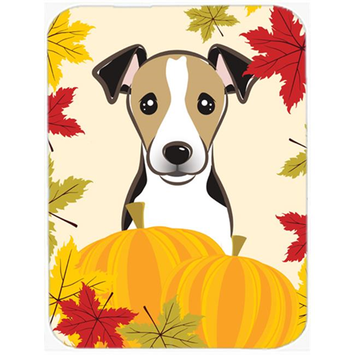 Carolines Treasures BB2067MP Jack Russell Terrier Thanksgiving Mouse Pad Hot Pad or Trivet