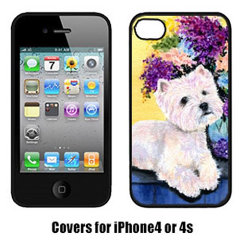 Carolines Treasures SS8291IP4 Westie Cell Phone cover IPhone 4