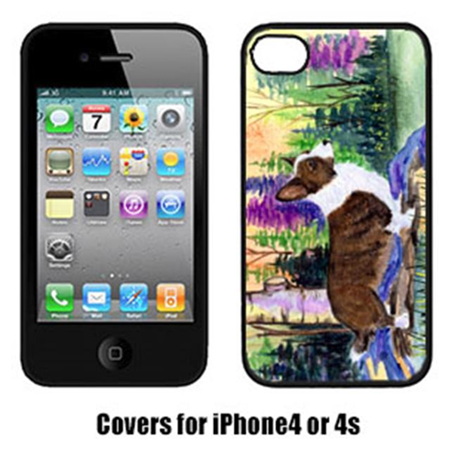 Carolines Treasures SS8006IP4 Corgi Iphone 4 Cover