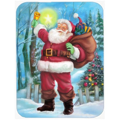 Carolines Treasures APH5001MP Christmas Santa Rining the Bell Mouse Pad Hot Pad or Trivet