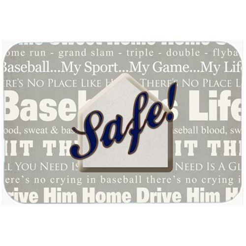 Carolines Treasures SB3079MP 7.75 x 9.25 In. Safe At Home Mouse Pad Hot Pad Or Trivet