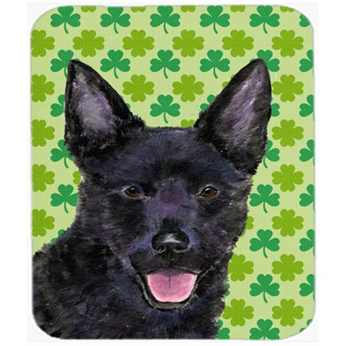 Carolines Treasures SS4429MP 9.5 x 8 in. Australian Kelpie St. Patricks Day Shamrock Mouse Pad Hot Pad or Trivet