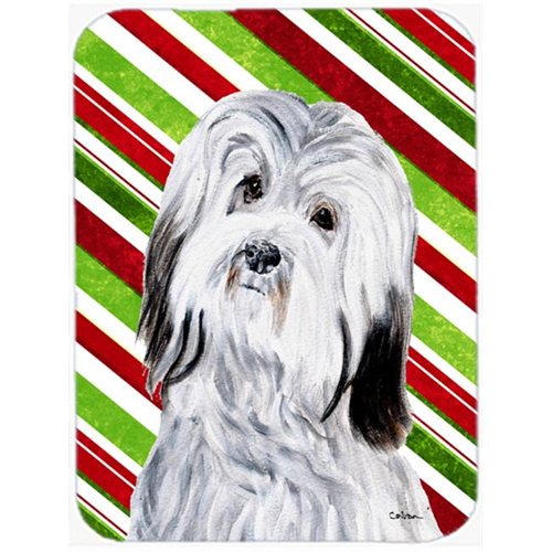 Carolines Treasures SC9809MP Havanese Candy Cane Christmas Mouse Pad Hot Pad Or Trivet 7.75 x 9.25 In.