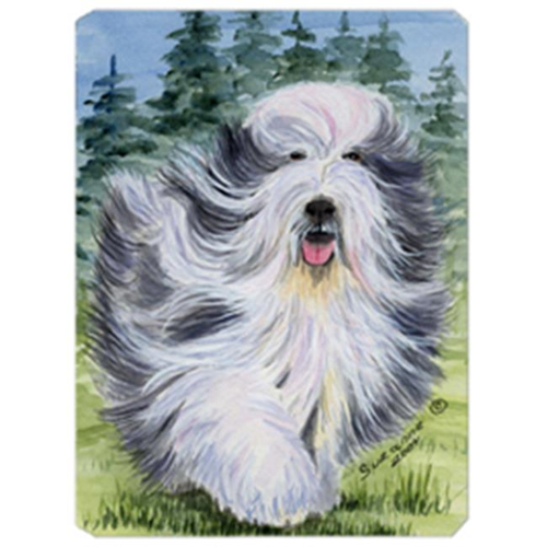 Carolines Treasures SS8037MP 8 x 9.5 in. Bearded Collie Mouse Pad Hot Pad or Trivet