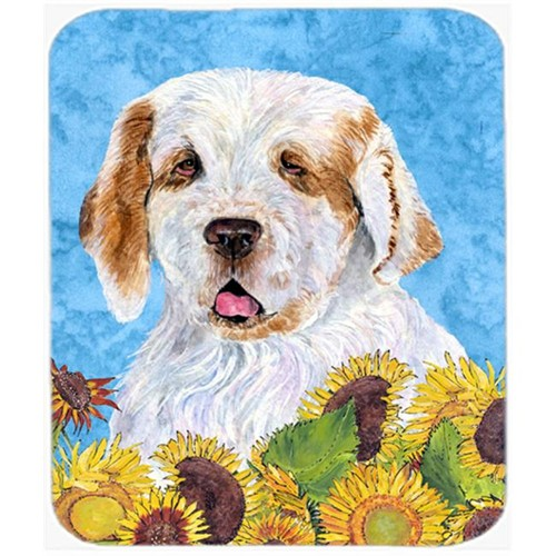 Carolines Treasures SS4133MP Clumber Spaniel Mouse Pad Hot Pad or Trivet