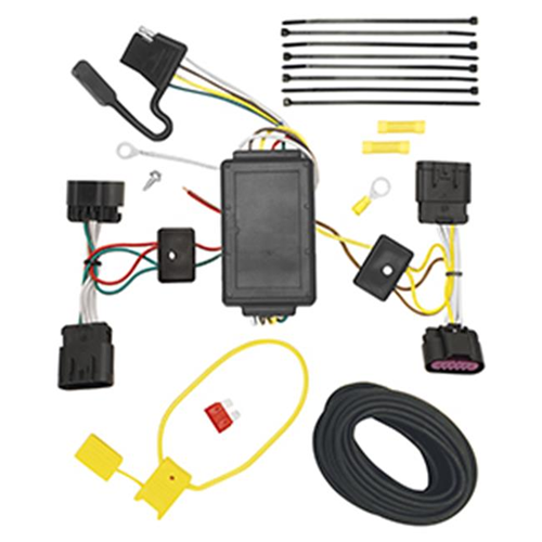 Tow Ready 118504 T-One Connector Assembly With Upgraded Circuit Protected Modulite Module 4 x 4.80 x 8.90 in.