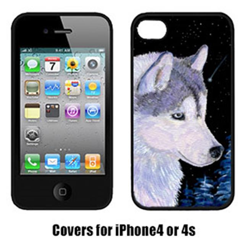 Carolines Treasures SS8617IP4 Siberian Husky Iphone4 Cover