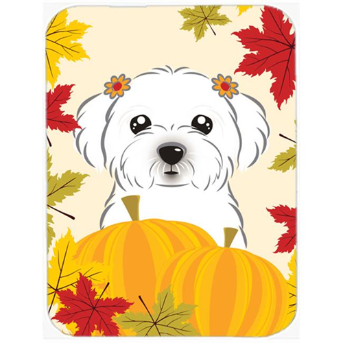 Carolines Treasures BB2014MP Maltese Thanksgiving Mouse Pad Hot Pad or Trivet