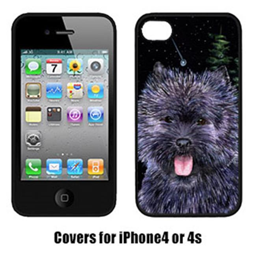 Carolines Treasures SS8494IP4 Starry Night Cairn Terrier Iphone4 Cover