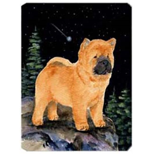 Carolines Treasures SS8488MP Starry Night Chow Chow Mouse Pad