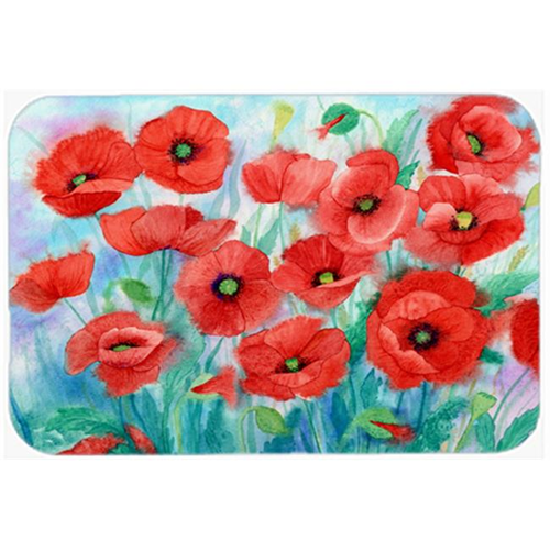 Carolines Treasures IBD0258MP Poppies Mouse Pad Hot Pad or Trivet