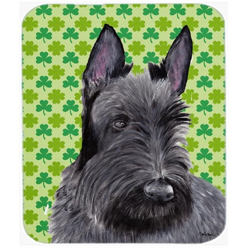 Carolines Treasures SC9306MP Scottish Terrier St. Patricks Day Shamrock Mouse Pad Hot Pad Or Trivet