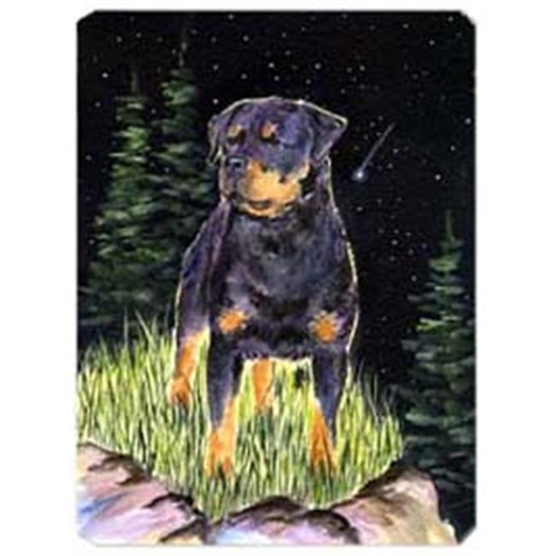 Carolines Treasures SS8475MP Starry Night Rottweiler Mouse Pad