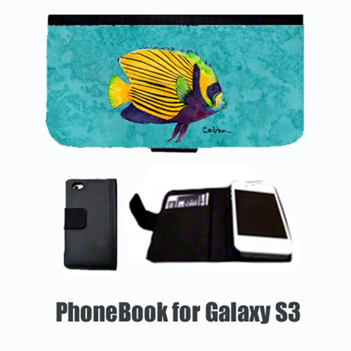 Carolines Treasures 8674-NBGALAXYS3 Tropical Fish Cell Phonebook Cell Phone case Cover for GALAXY S3