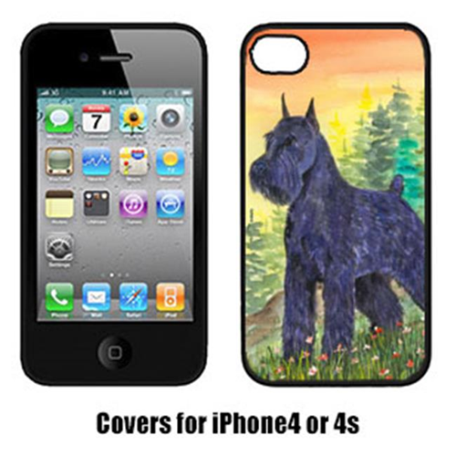 Carolines Treasures SS1051IP4 Schnauzer Iphone 4 Cover