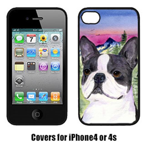 Carolines Treasures SS8339IP4 Boston Terrier Cell Phone cover IPhone 4