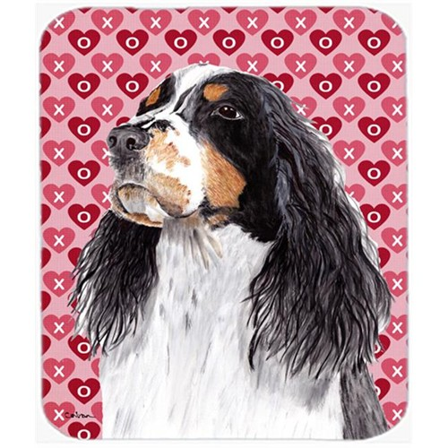 Carolines Treasures SC9277MP Springer Spaniel Hearts Love and Valentines Day Mouse Pad Hot Pad or Trivet