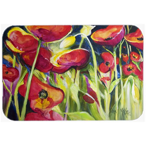 Carolines Treasures JMK1121MP Red Poppies Mouse Pad Hot Pad & Trivet