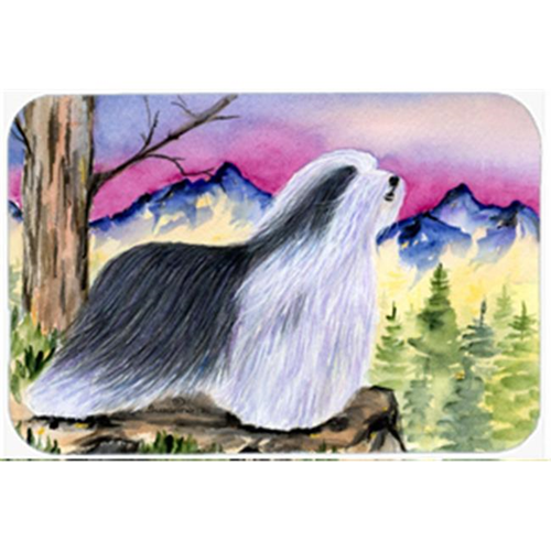 Carolines Treasures SS8338MP Bearded Collie Mouse Pad