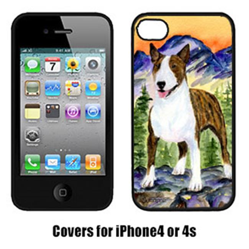 Carolines Treasures SS8167IP4 Bull Terrier Cell Phone cover IPhone 4