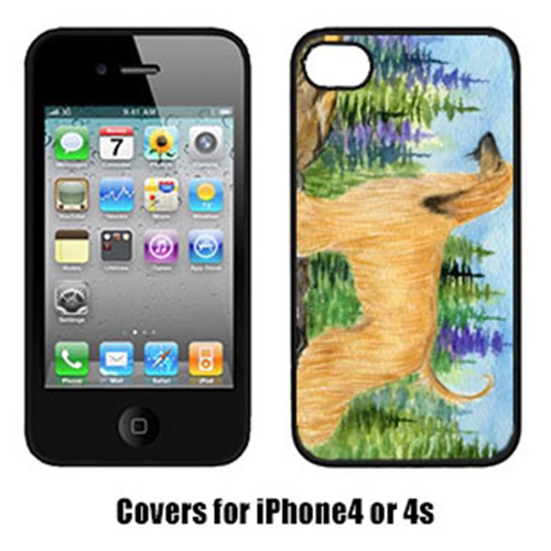 Carolines Treasures SS8220IP4 Afghan Hound Cell Phone cover IPhone 4