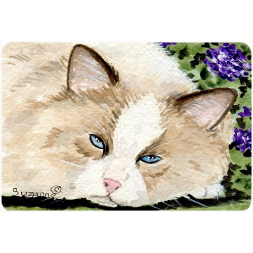 Carolines Treasures SS8825MP 9.25 x 7.75 in. Cat Mouse Pad Hot Pad Or Trivet