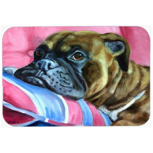 Carolines Treasures 7347MP Fawn Boxer Mouse Pad Hot Pad & Trivet
