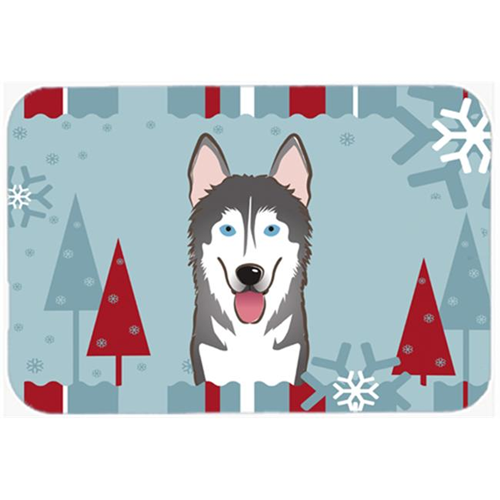 Carolines Treasures BB1714MP Winter Holiday Alaskan Malamute Mouse Pad Hot Pad & Trivet