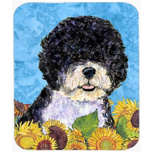 Carolines Treasures SS4124MP Portuguese Water Dog Mouse Pad Hot Pad Or Trivet