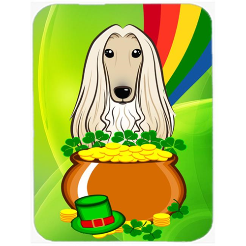Carolines Treasures BB1988MP Afghan Hound St. Patricks Day Mouse Pad Hot Pad or Trivet