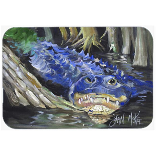 Carolines Treasures JMK1135MP Blue Alligator Mouse Pad Hot Pad & Trivet