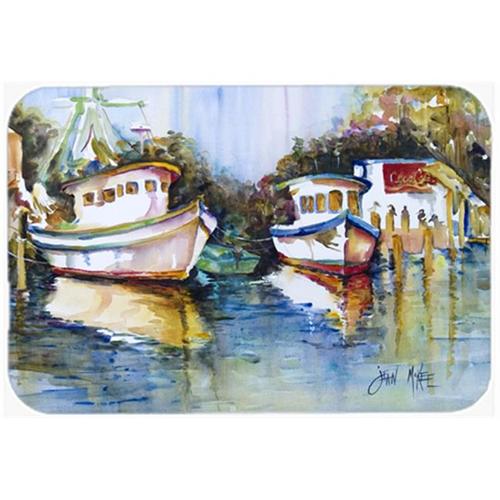Carolines Treasures JMK1046MP Fly Creek Fish Market Mouse Pad Hot Pad & Trivet