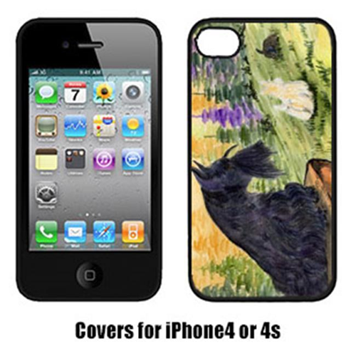 Carolines Treasures SS8634IP4 Scottish Terrier Cell Phone Cover Iphone4