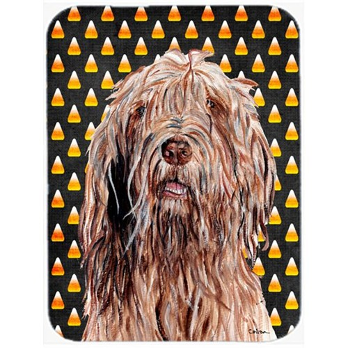 Carolines Treasures SC9661MP Otterhound Candy Corn Halloween Mouse Pad Hot Pad Or Trivet 7.75 x 9.25 In.
