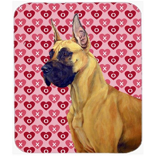 Carolines Treasures LH9130MP Great Dane Hearts Love And Valentines Day Mouse Pad Hot Pad or Trivet