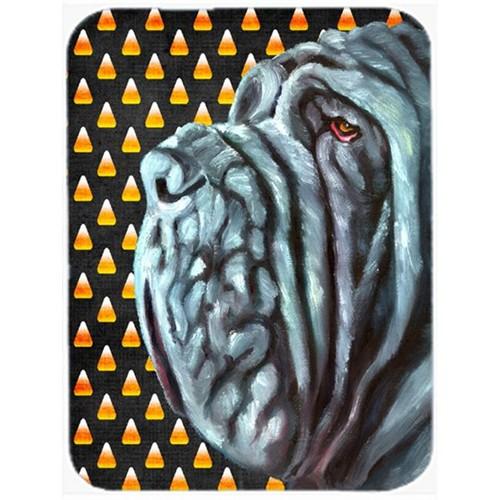 Carolines Treasures LH9547MP Neapolitan Mastiff Candy Corn Halloween Mouse Pad Hot Pad & Trivet