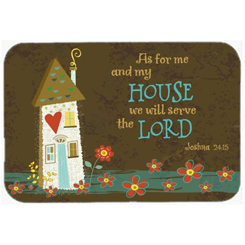 Carolines Treasures VHA3005MP As for Me & My House Mouse Pad Hot Pad or Trivet