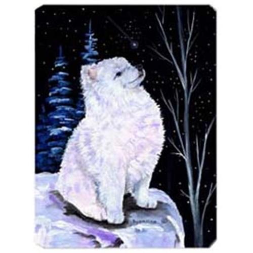 Carolines Treasures SS8389MP Starry Night American Eskimo Mouse Pad