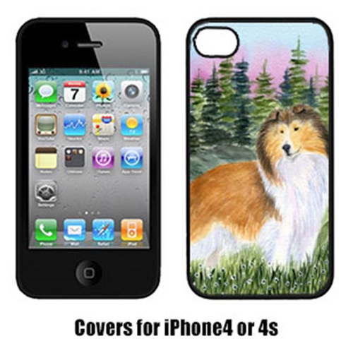 Carolines Treasures SS8321IP4 Sheltie Cell Phone cover IPhone 4