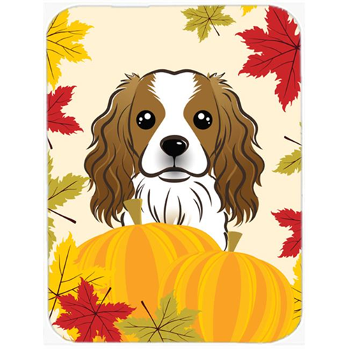 Carolines Treasures BB2030MP Cavalier Spaniel Thanksgiving Mouse Pad Hot Pad or Trivet