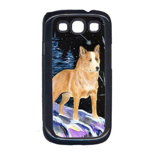 Carolines Treasures SS8407GALAXYSIII Starry Night Australian Cattle Dog Cell Phone Cover Galaxy S111